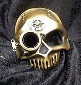 MAS Clockwork Skull Molded Leather Mask