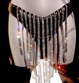 TW Neptune Rhinestone Pvc Skirt
