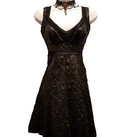 CLR Vintage Style Lava Cocktail Dress
