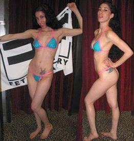 CLR Latex Bikini Top
