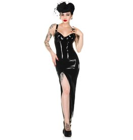 FF Tequila Latex Evening Gown