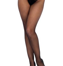 LGA Low Rise Lace Top Micro Net Tights
