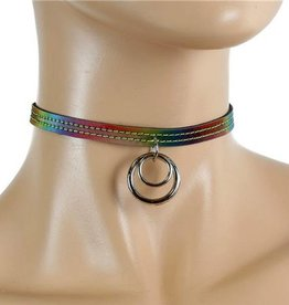 FPL Rainbow Choker With Double Ring