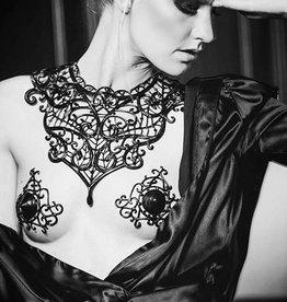 KVD Plastron Lina Latex Lace Necklace