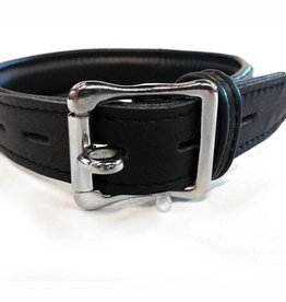 ETC Garment Leather Collar With Locking Buckle