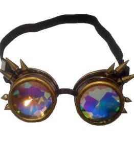 FPL Kaleidoscope Steampunk Goggles