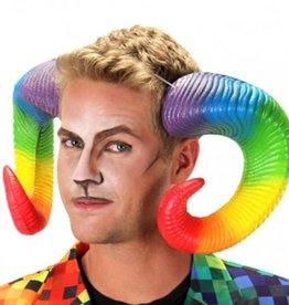ELO Rainbow Ram Horns