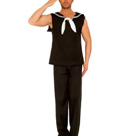 SKY Sleeveless Sailor Set