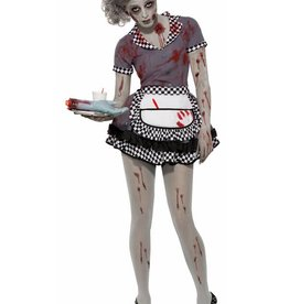 FN Co-Zombie Waitress Dress
