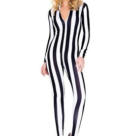 SKY Vertical Striped Catsuit