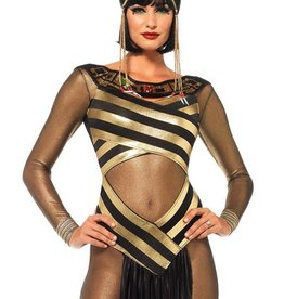 LGA Nile Queen Catsuit Dress Set