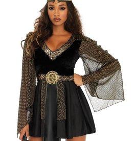LGA Glamazon Warrior Velvet Dress Set