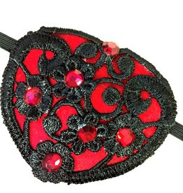 FN Steampunk Lace Eye Patch