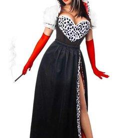 DC 4 Piece Cruella Costume
