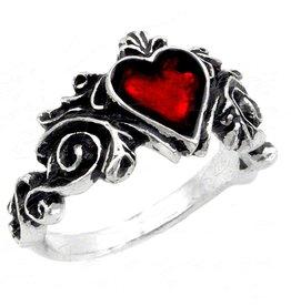 LOE Betrothal  Heart Ring