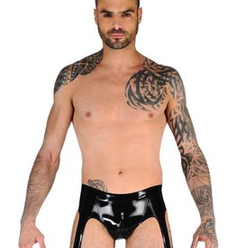FF Mens Latex Suspender Briefs