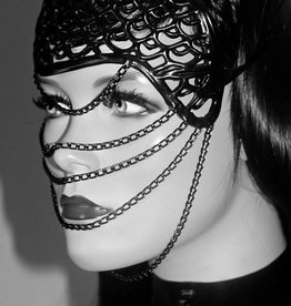 KVD Luna Latex Mask With Chain Details