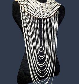 WF Pearl Body Chain