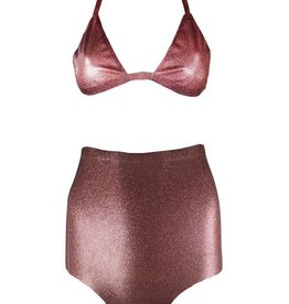 VEX Glitter Knickers And Bikini Top Set