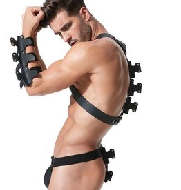 GH Frame Leather Chest Harness