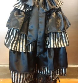 CLR Striped Bustle Skirt