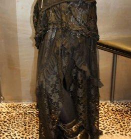 CLR Vampira Lace And Mesh Long Skirt