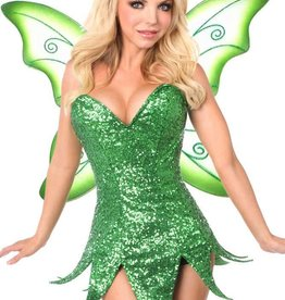 CLR Sequin Fairy Corset Dress And Wings