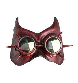 WF Devil Mask with Spike Goggles & Horns