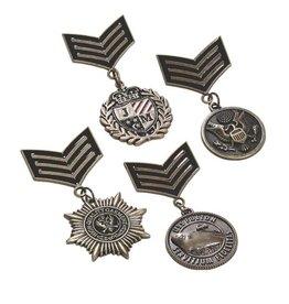 WF Military Uniform Medals  Set of 4