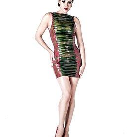 AFF Marin Latex Mini Dress