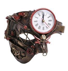 WF Steampunk Phantom Mask with Working Clock