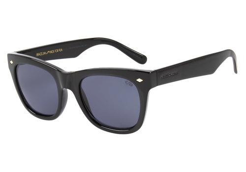 Sunglasses - VINTAGE POR MARCELO SOMMER - GRAD GREY/BLK MATTE -- OC.CL.2520.0538