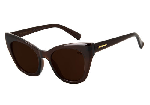 SUNGLASSES - LADY LIKE - BROWN/BROWN -- OC.CL.2705.0202