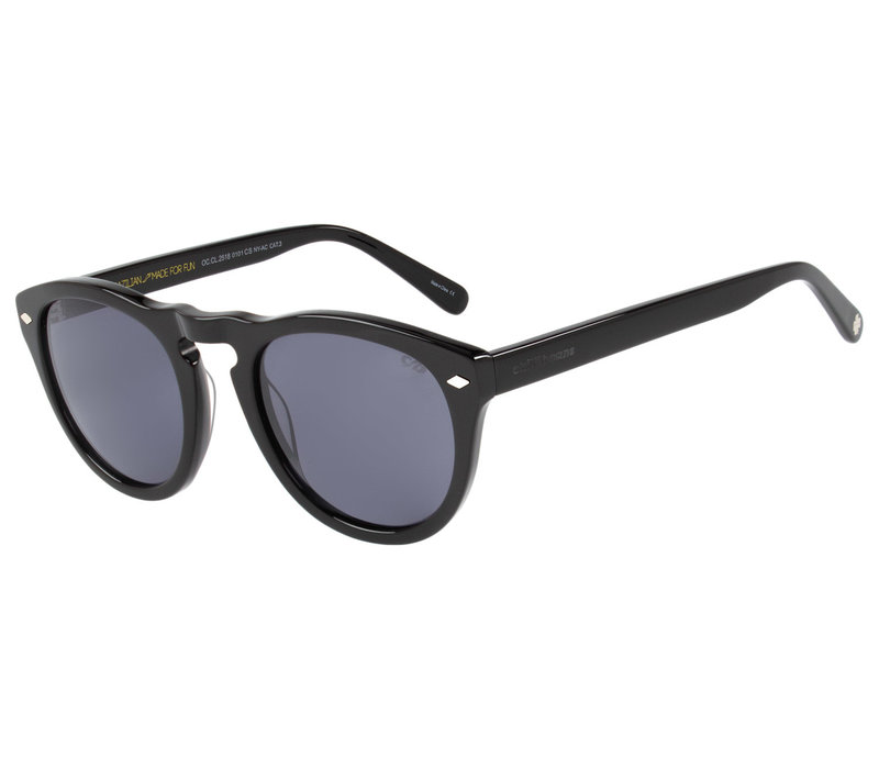 Sunglasses - VINTAGE POR MARCELO SOMMER - BLACK/BLACK -- OC.CL.2518.0101