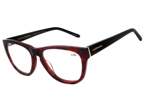 Optical - CHILLI BEANS - Burgundy/BLACK -- LV.AC.0398.1701