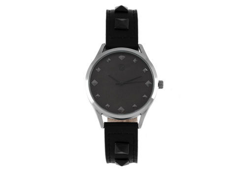 WATCHES - CHILLI BEANS - SILVER/BLACK -- RE.CR.0396.0701