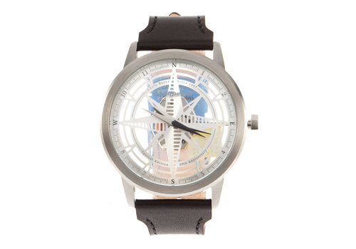 WATCHES - 20 YEARS - SILVER/BROWN -- RE.CR.0289.0702
