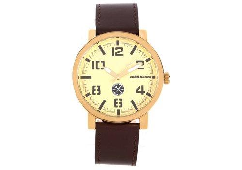 Watch - CHILLI BEANS - GOLD DK/Burgundy -- RE.CR.0186.6717
