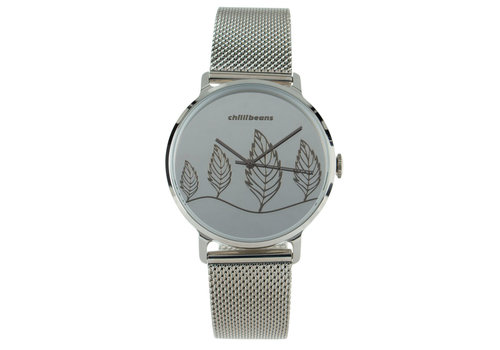 Watch - CHILLI BEANS - SILVER/SILVER -- RE.MT.0642.0707