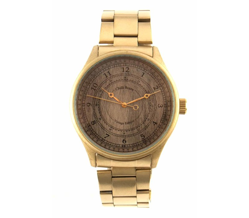 Watch - CHILLI BEANS - GREY/GOLD -- RE.MT.0567.0421