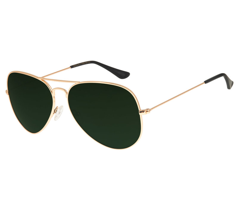 SUNGLASSES - CHILLI BEANS - GREEN/GOLDEN -- OC.MT.2451.1521