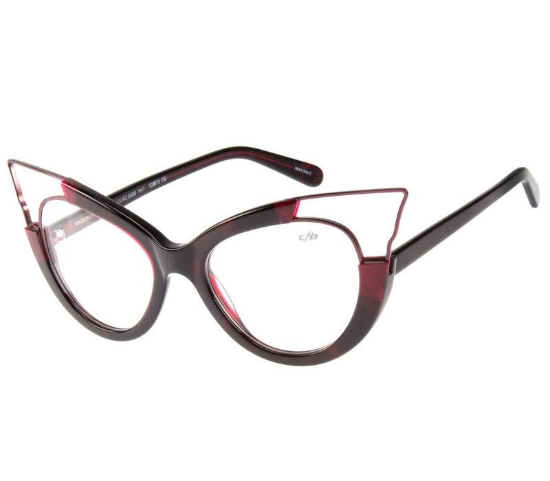 Optical - 20 ANOS - RED/BROW DK -- LV.AC.0489.1647