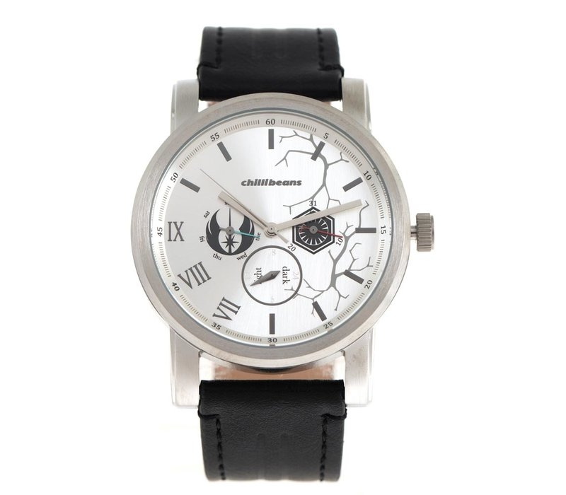 WATCHES - STAR WARS - SILVER/CARAMEL -- RE.CR.0402.0703
