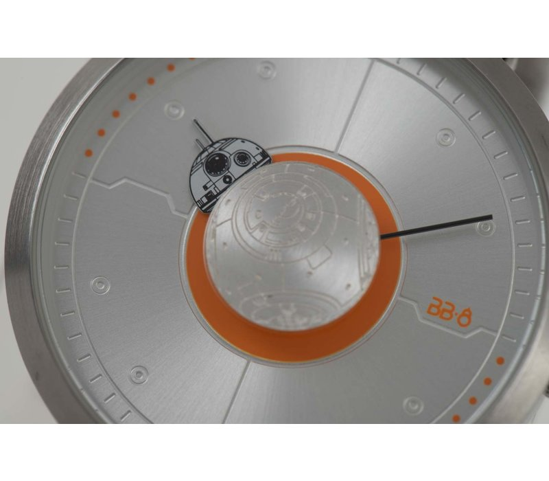 WATCHES - STAR WARS - ORANGE/SILVER -- RE.MT.0857.1107