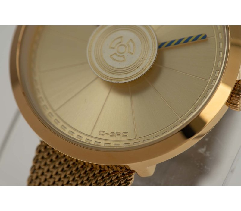 WATCHES - STAR WARS - GOLDEN/GOLDEN -- RE.MT.0857.2121