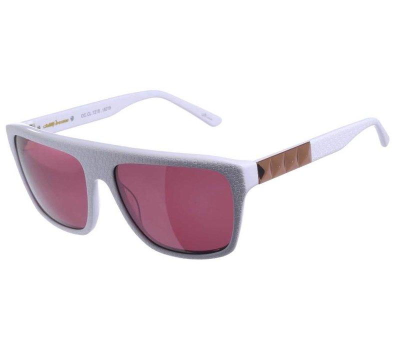 Sunglasses - AMAPO - BROWN/WHITE -- OC.CL.1218.0219