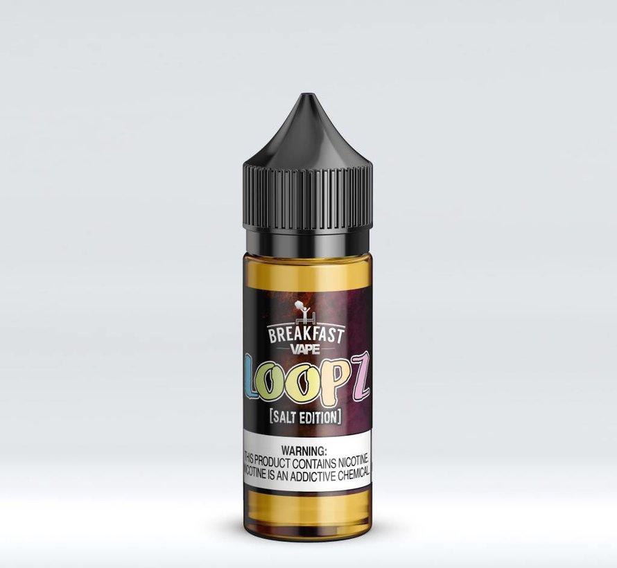 Breakfast Vape Salt 30mL - Loopz