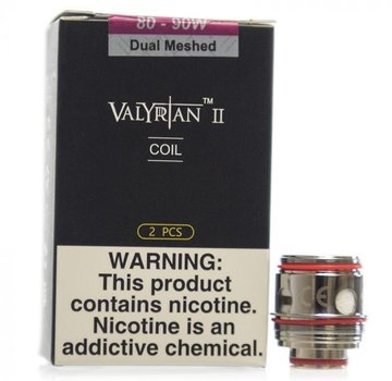 Uwell Valyrian II Dual Mesh Coils 0.14ohm 2pk