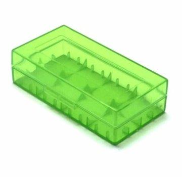 Dual 20700/21700 Battery Case - Green