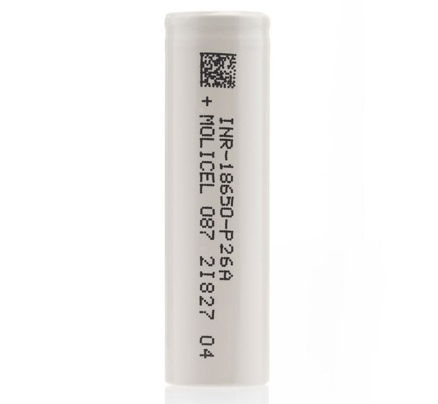 Molicel P26A 18650 2600mAh 25A Battery